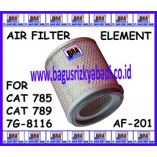 AF-201 - AIR FILTER ELEMENT FOR CAT 785, CAT 789, CAT 7G-8116