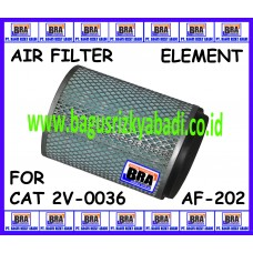 AF-202 - AIR FILTER ELEMENT FOR CAT 2V-0036