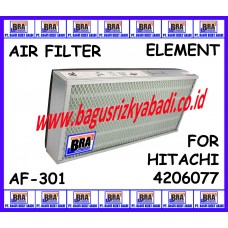 AF-301 - AIR FILTER ELEMENT FOR HITACHI 4206077