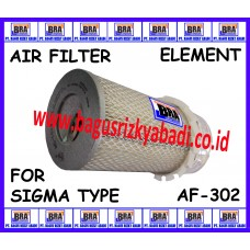 AF-302 - AIR FILTER ELEMENT FOR  SIGMA TYPE