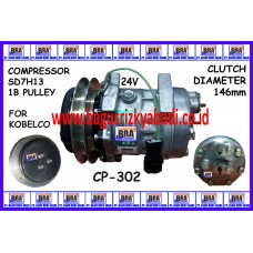 CP-302 - SD7H13 1B for KOBELCO 24V