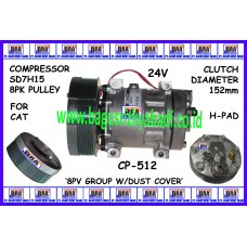 CP-512 - SD7H15 - 4840 8PK For CAT 24V