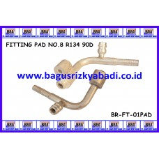 FITTING PAD NO 8 R134 90D