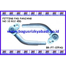 FITTING PAD PANJANG NO 10 R12 45D