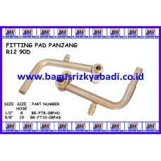 FITTING PAD PANJANG R12 90D