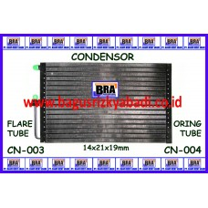 CN-003 - CONDENSOR 14x21x19mm FLARE TUBE
