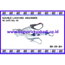 DOUBLE LANYARD ABSORBER HARNESS  ( BE SAFE )