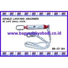 SINGLE LANYARD ABSORBER SMALL HOOK ( BE SAFE )