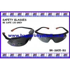 SAFETY GLASSES-BE SAFE 120 GREY