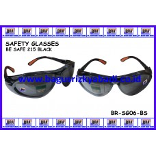 SAFETY GLASSES-BE SAFE 215 GREY