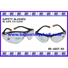 SAFETY GLASSES-BE SAFE 215 CLEAR