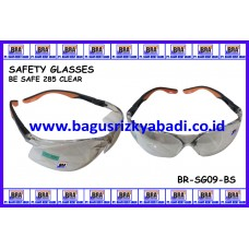 SAFETY GLASSES-BE SAFE 285 CLEAR