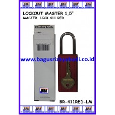 LOCKOUT MASTER 411RED
