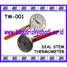 TM-001 - DIAL STEM THERMOMETER